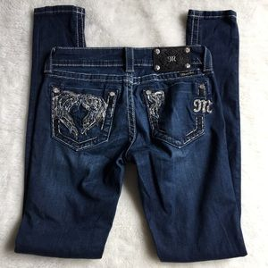 """Miss Me Bling Jegging Jeans Size 26x32"""""""